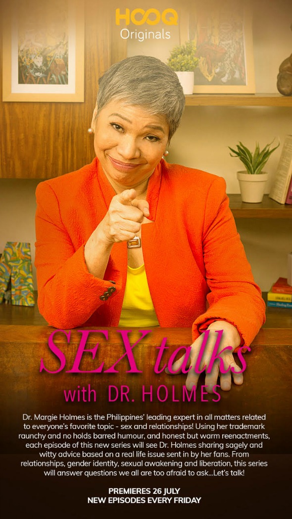 HOOQ Brings Sexy Back with 'Sex Talks with Dr  Holmes